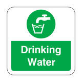 Drinking Water Floor Graphics Sticker | Safety-Label.co.uk