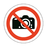 No Photography Floor Marker Sticker | Safety-Label.co.uk