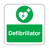 Defibrillator Floor Graphics Sticker | Safety-Label.co.uk