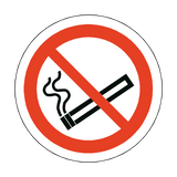 No Smoking Floor Marker Sticker | Safety-Label.co.uk