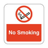 No Smoking Floor Graphics Sticker | Safety-Label.co.uk