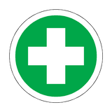 First Aid Floor Marker Sticker | Safety-Label.co.uk
