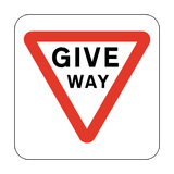 Give Way Floor Graphics Sticker | Safety-Label.co.uk