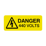 440 Volts Labels Mini | Safety-Label.co.uk