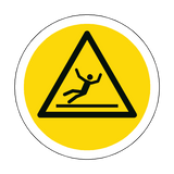 Slippery Surface Floor Marker Sticker | Safety-Label.co.uk