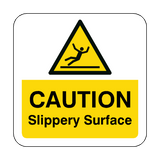 Slippery Surface Floor Graphics Sticker | Safety-Label.co.uk