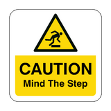 Mind The Step Floor Graphics Sticker | Safety-Label.co.uk