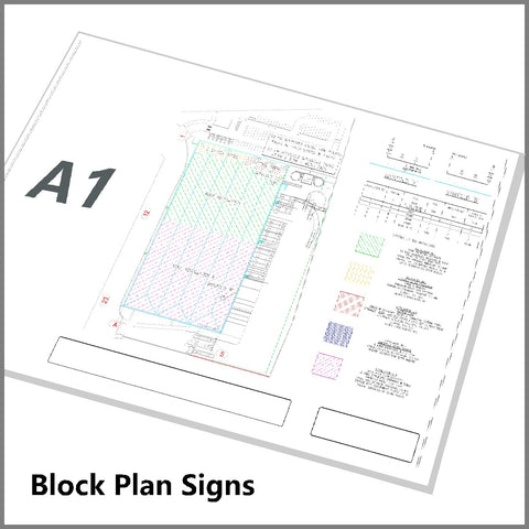 Sprinkler Block Plan A1