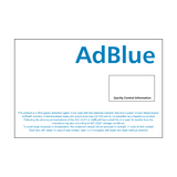 AdBlue IBC Container Sticker | Safety-Label.co.uk