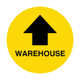 Warehouse Arrow Floor Sticker | Safety-Label.co.uk