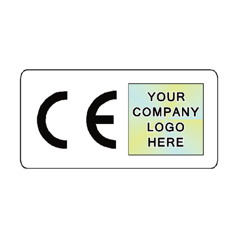 CE Label Custom Logo - Safety-Label.co.uk