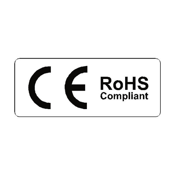CE RoHS Compliant Label | Safety-Label.co.uk