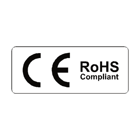 CE RoHS Compliant Label - Safety-Label.co.uk