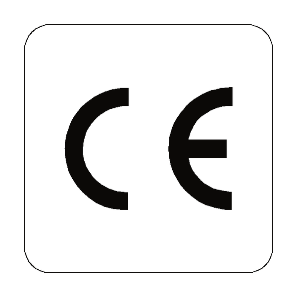 CE Label Square - Safety-Label.co.uk