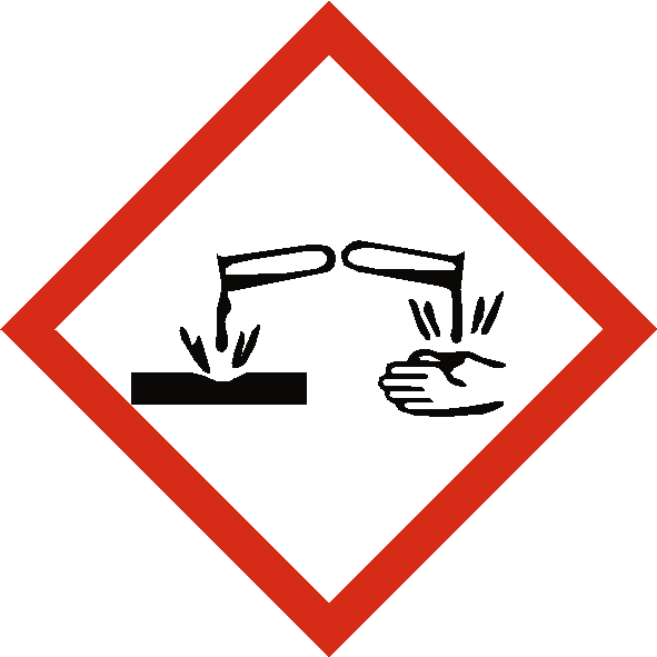 Corrosive COSHH Label | Safety-Label.co.uk