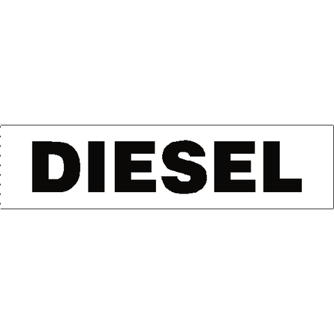 Diesel Sticker - Safety-Label.co.uk