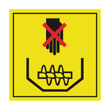 Do Not Reach In To Grain Tank Label | Safety-Label.co.uk