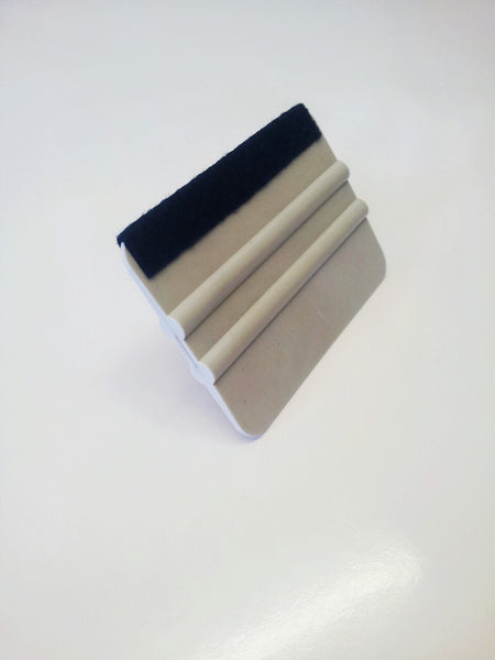 Felt Edged Squeegee Vinyl Applicator Tool - Safety-Label.co.uk