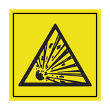 Explosive ISO 11684 Label | Safety-Label.co.uk
