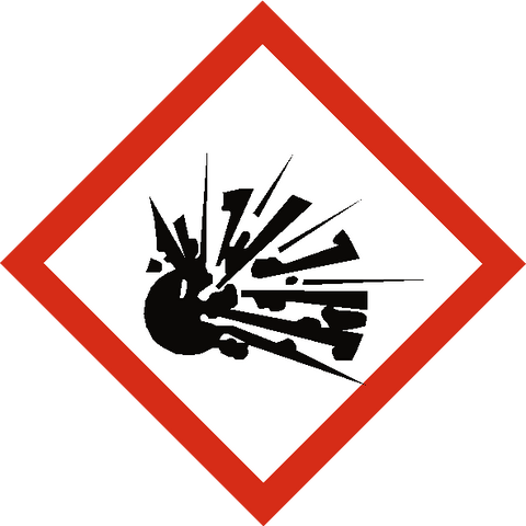 Explosive COSHH Label - Safety-Label.co.uk