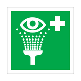 Eyewash Station Symbol Sign | Safety-Label.co.uk
