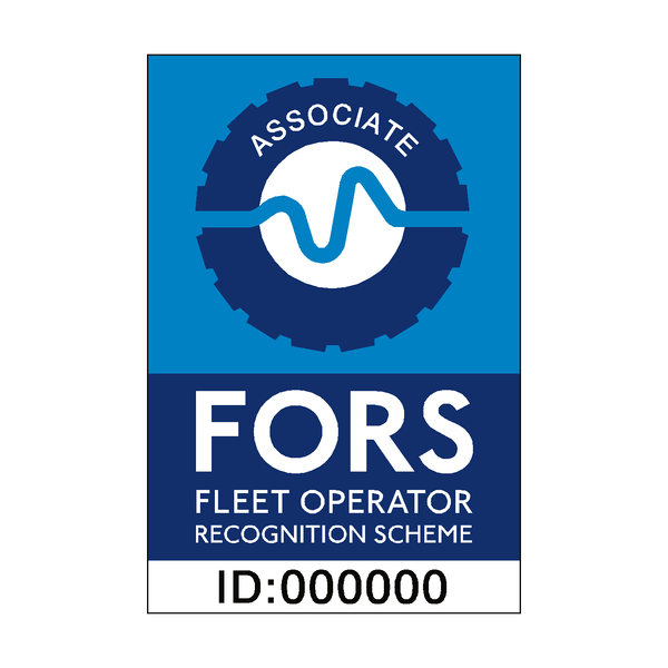 FORS Associate Sticker - Safety-Label.co.uk