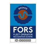 FORS Bronze Sticker - Safety-Label.co.uk