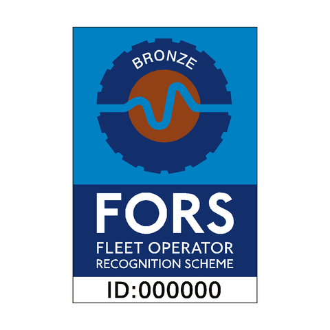 FORS Bronze Sticker