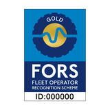 FORS Gold Sticker - Safety-Label.co.uk