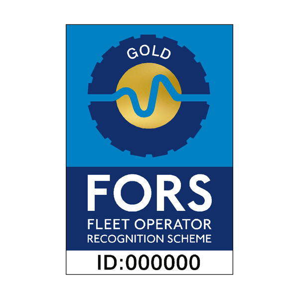 FORS Gold Sticker | Safety-Label.co.uk
