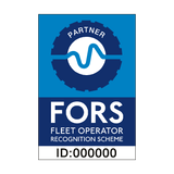 FORS Partner Sticker - Safety-Label.co.uk