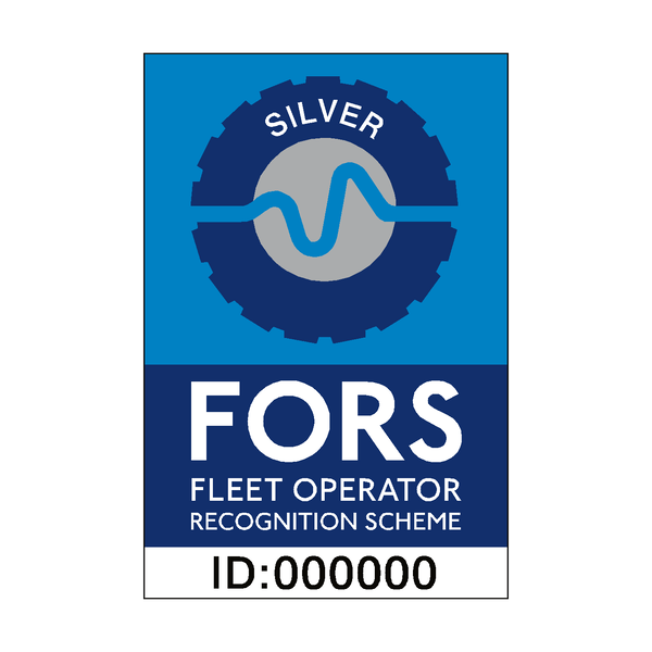 FORS Silver Sticker | Safety-Label.co.uk