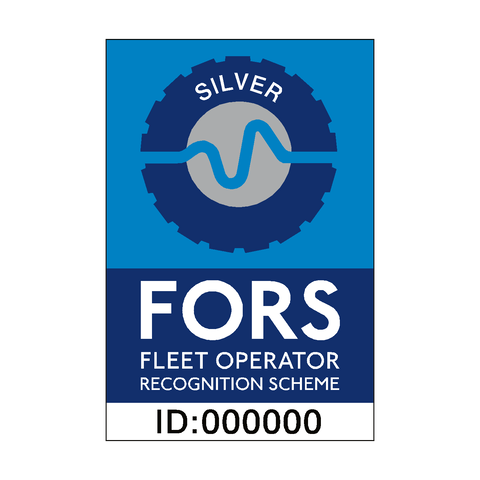 FORS Silver Sticker