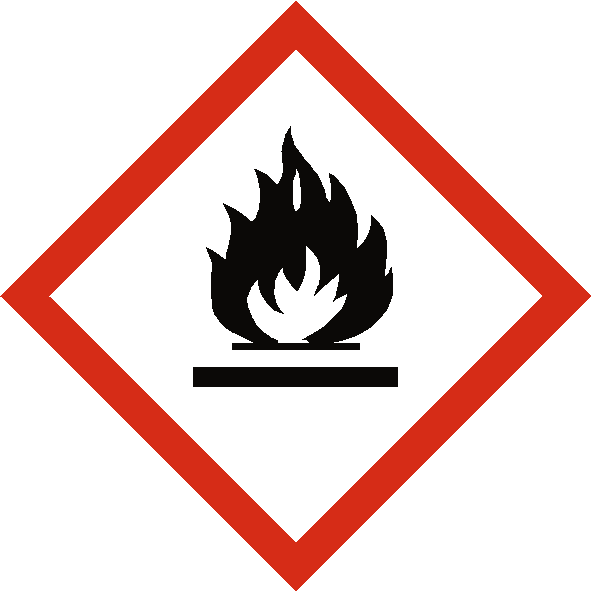 Flammable COSHH Label | Safety-Label.co.uk