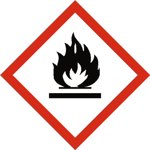 Flammable COSHH Label - Safety-Label.co.uk