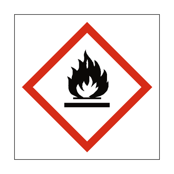 Flammable COSHH Sign | Safety-Label.co.uk