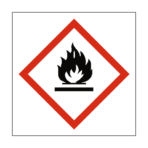 Flammable COSHH Sign - Safety-Label.co.uk