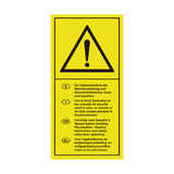 For Language Read Manual Sticker | Safety-Label.co.uk