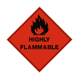 Highly Flammable Label | Safety-Label.co.uk