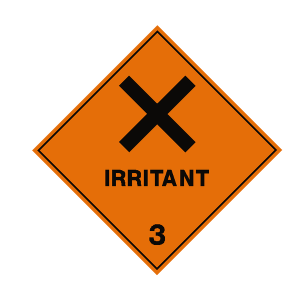Irritant 3 Label | Safety-Label.co.uk
