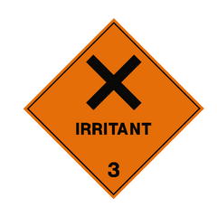 Irritant 3 Label - Safety-Label.co.uk