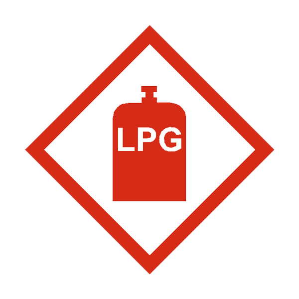 Lpg Sticker Safety Label Co Uk Safety Signs Safety
