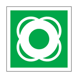 Lifebuoy Symbol Sign | Safety-Label.co.uk