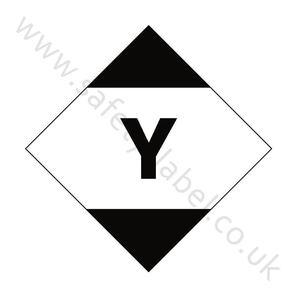 Limited Quantity Air Hazchem Sign | Safety-Label.co.uk