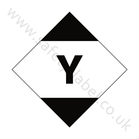 Limited Quantity Air Hazchem Sign - Safety-Label.co.uk