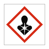 Long Term Health Hazard COSHH Sign - Safety-Label.co.uk
