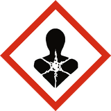 Long Term Health Hazard COSHH Label | Safety-Label.co.uk
