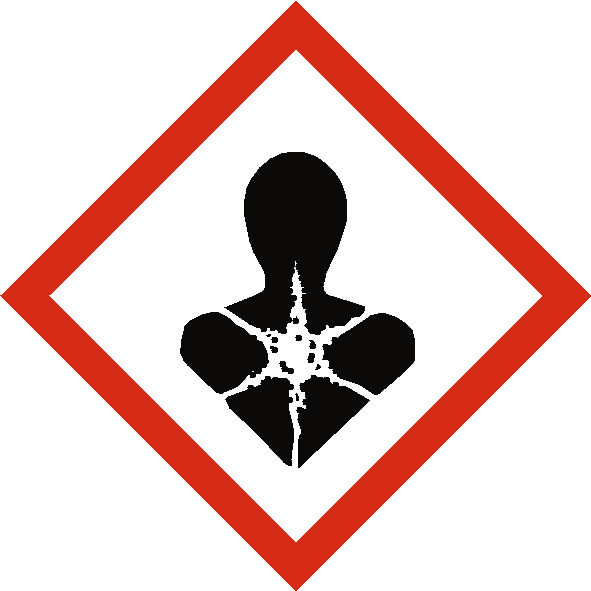 Long Term Health Hazard COSHH Label - Safety-Label.co.uk