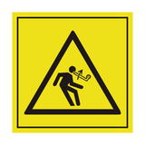 Move Arm Upwards ISO Label | Safety-Label.co.uk