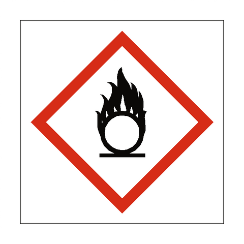 Oxidising COSHH Sign - Safety-Label.co.uk